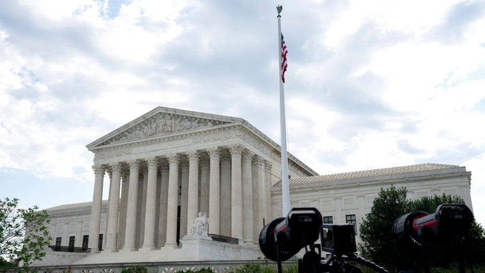 Edificio de la Corte Suprema de Justicia de EE.UU.