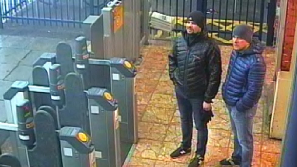 CCTV of suspects in Salisbury poisoning issued by police
