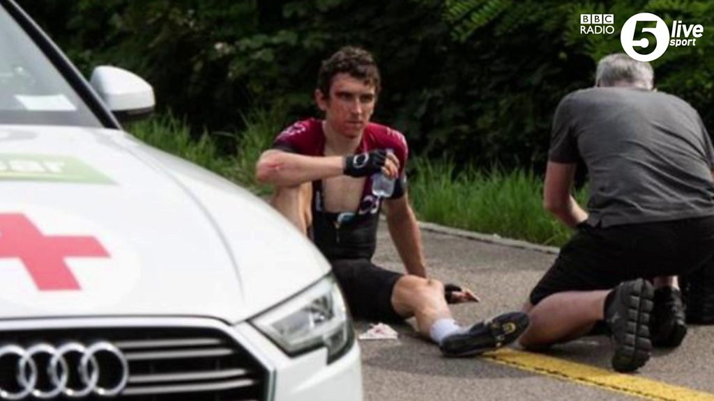 Geraint Thomas: Inside the mind of a cyclist during a high-speed crash