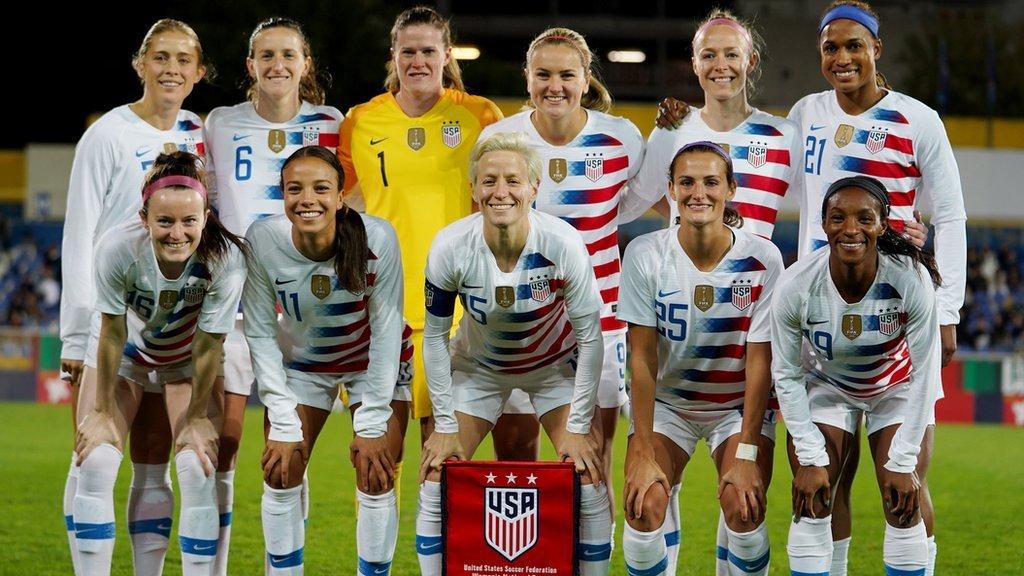الفريق الامريكي