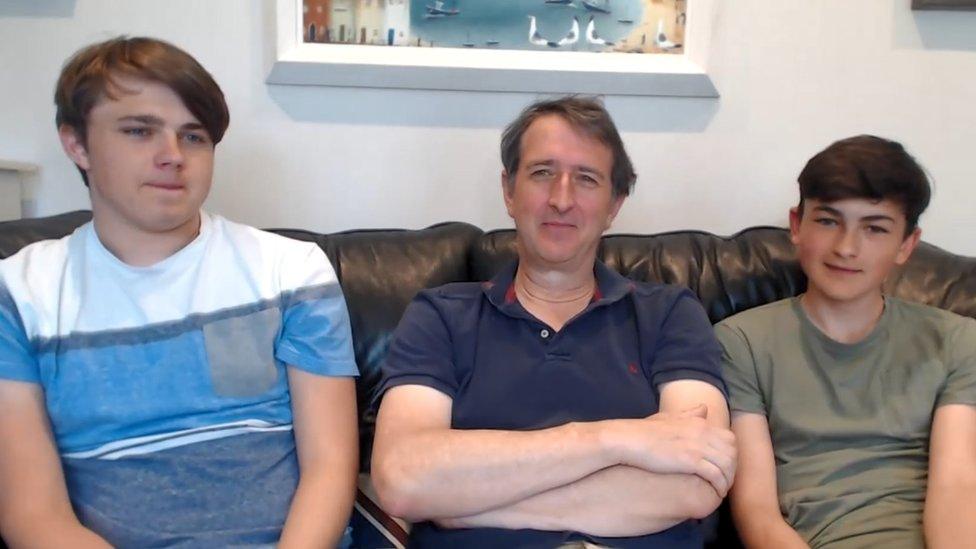 Harry, Howard and Charlie