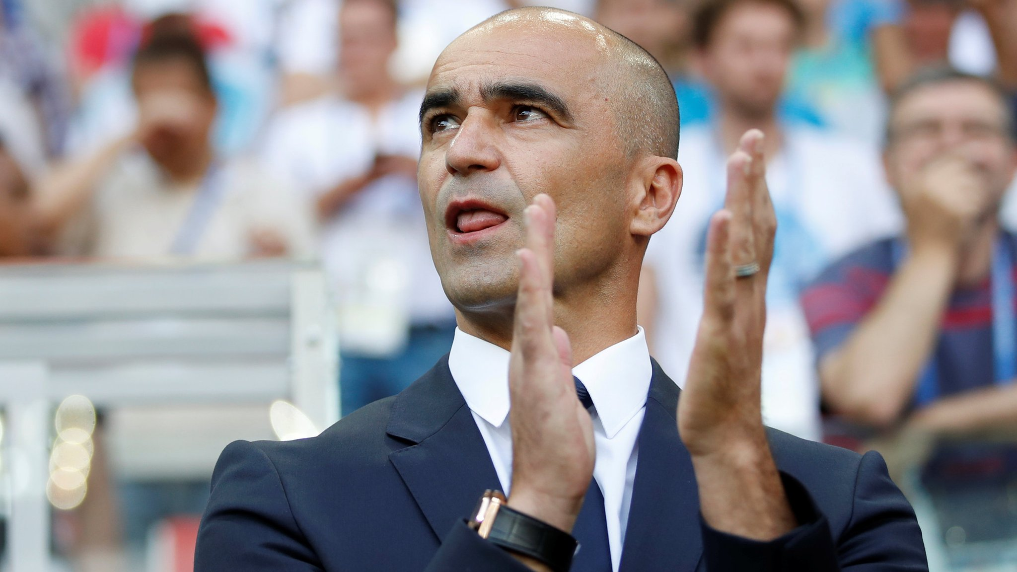 I could make 10 changes for England match - Belgium boss Martinez