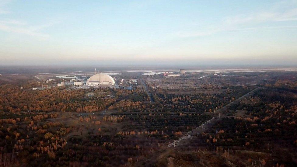 Planta nuclear de Chernóbil