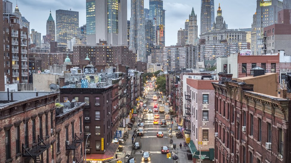 Vista de Nueva York.