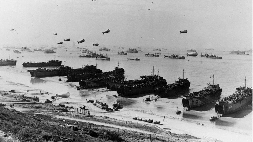 Desembarco de Normandía.
