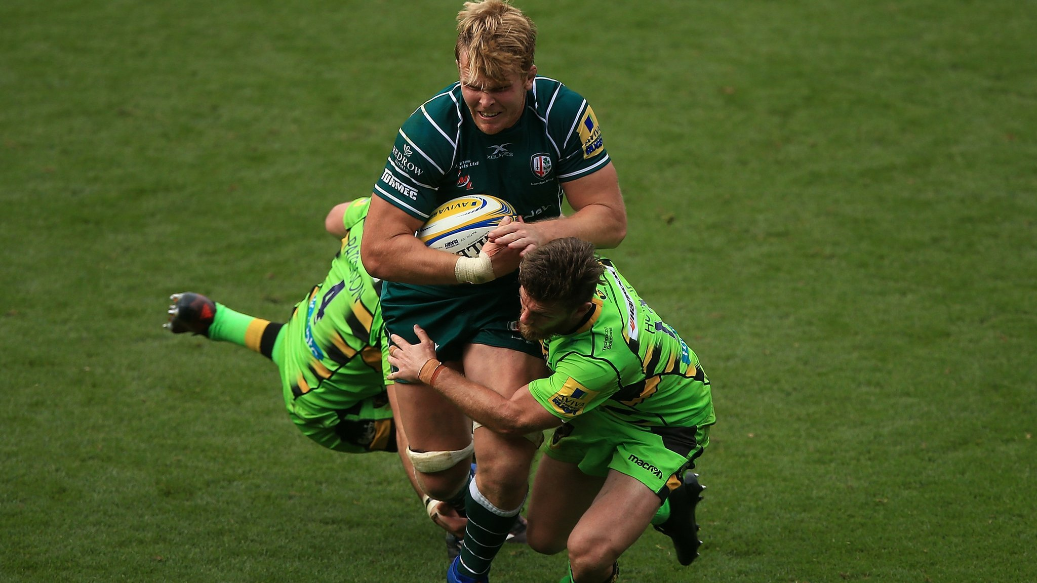 Josh McNally: Bath sign forward from London Irish