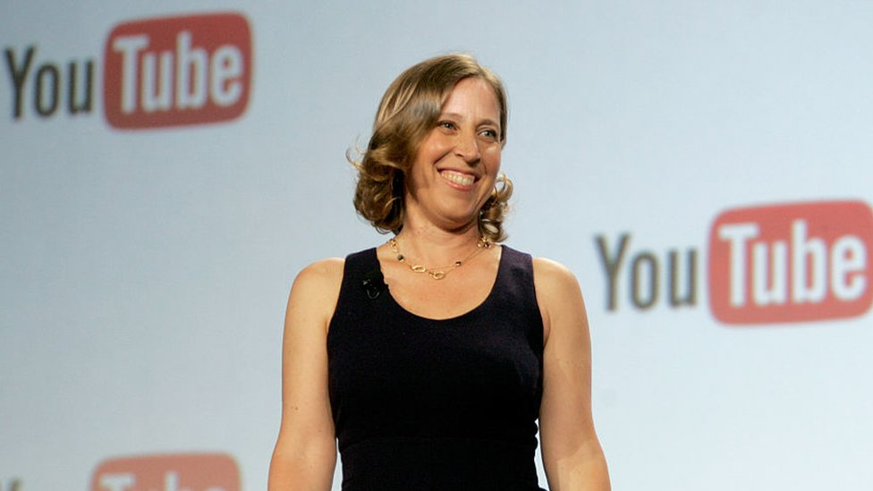 Susan Wojcicki, CEO de YouTube.