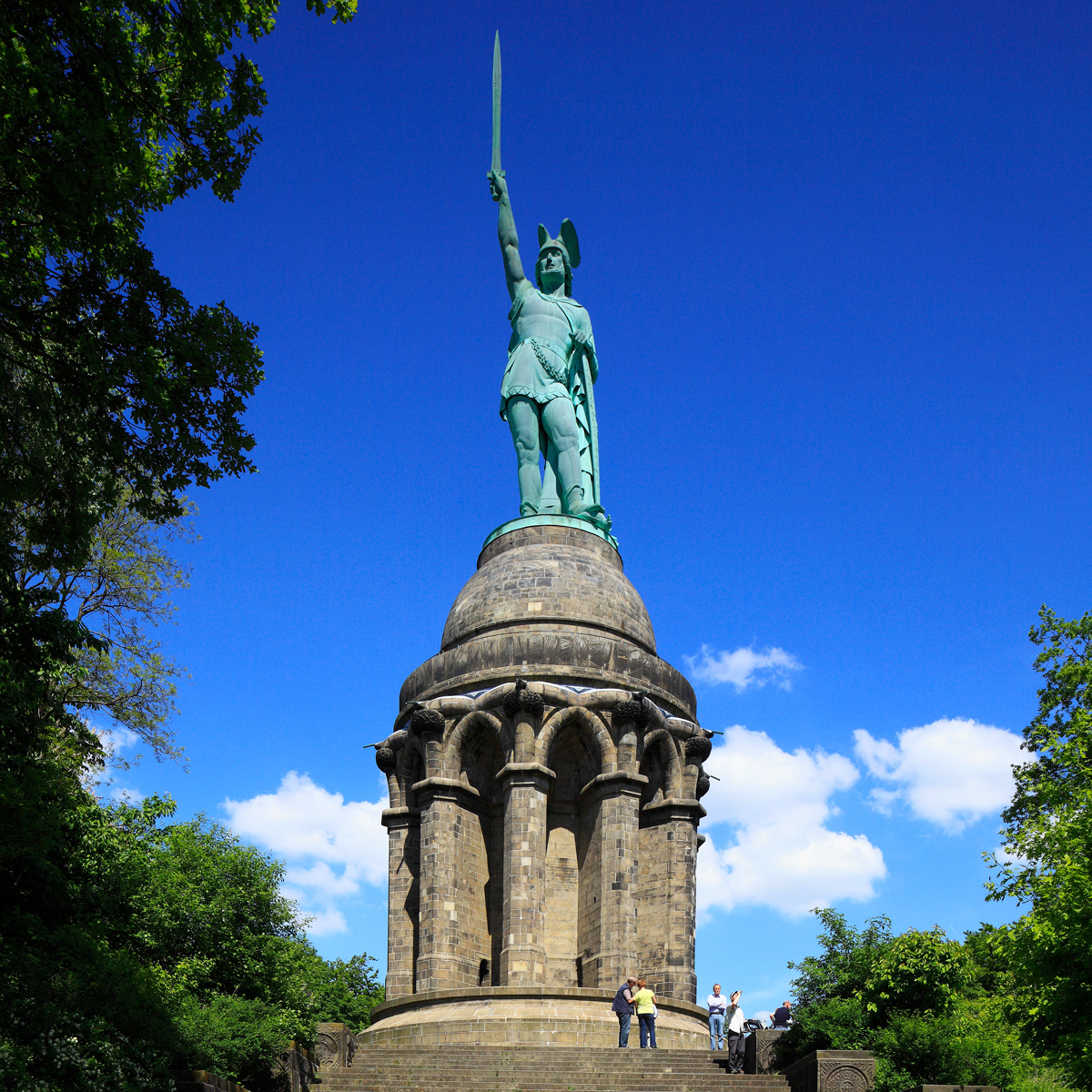 The Hermann Monument, North Rhine-Westphalia, 2013