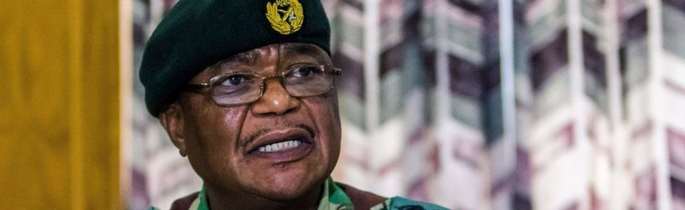 Gen Constantino Chiwenga, chief of Zimbabwe's armed Forces, on Monday
