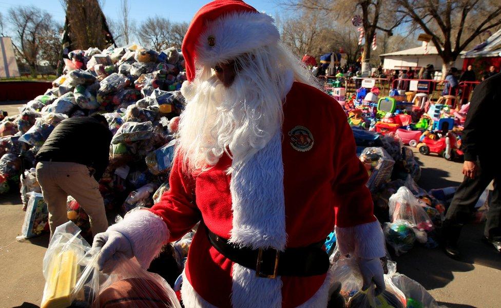 Deda Mraz u Meksiku