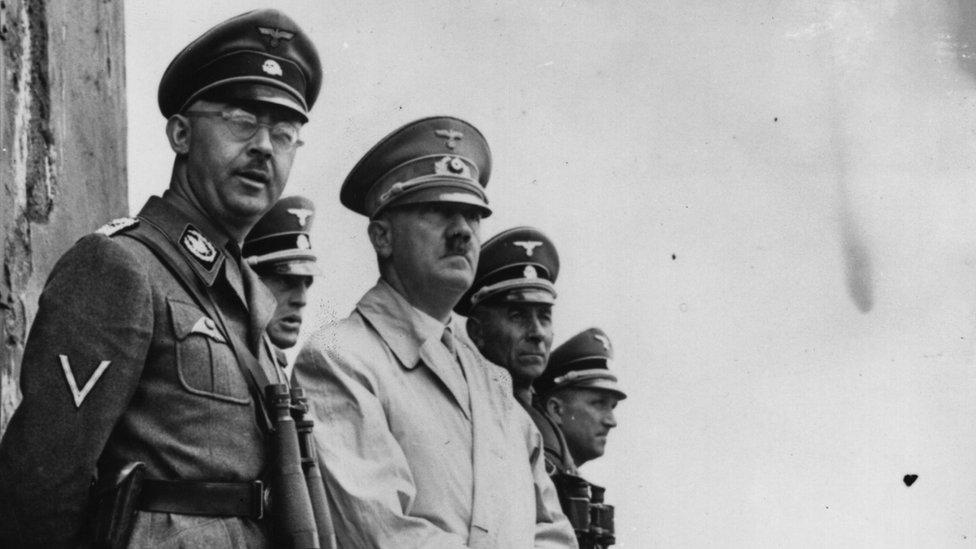 Himler sa Adolfom Hitlerom