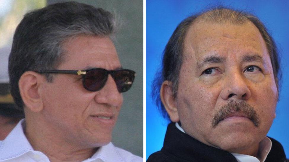 Humberto y Daniel Ortega