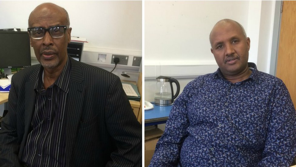 Eid Ali Ahmed and Nasir Ali, who are both involved in the Somaliland Mental Health support organisation