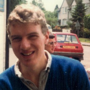 Stan Boland, aged 19
