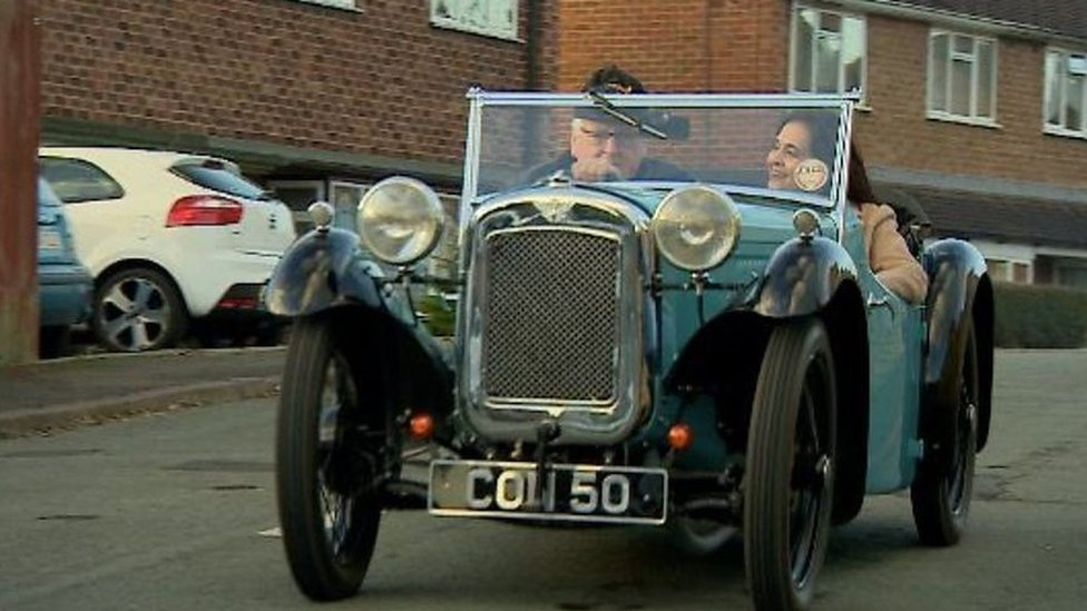 Driving your first car at 70, after years of restoration