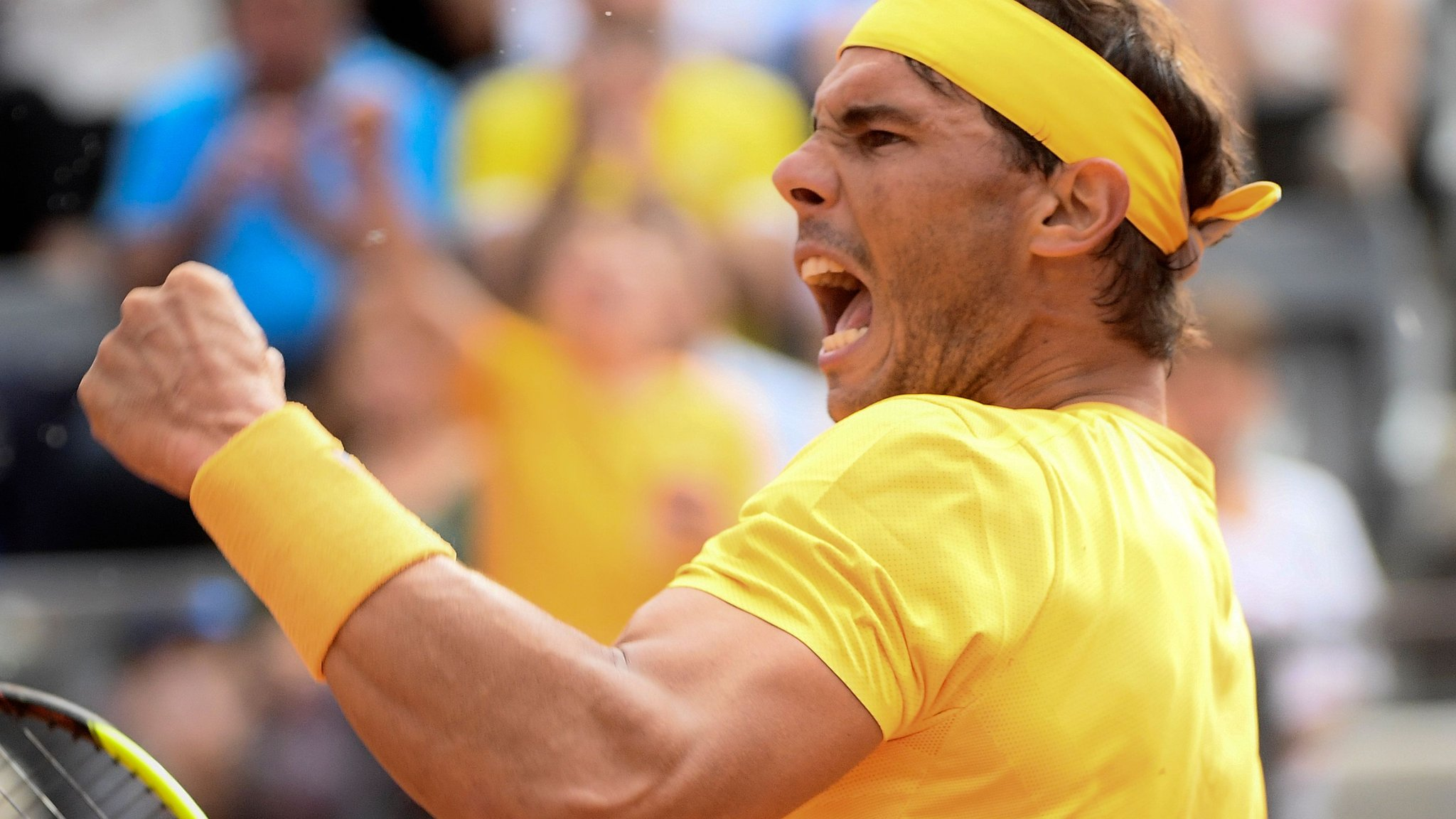 Italian Open: Rafael Nadal beats Alexander Zverev to win Rome title for an eighth time