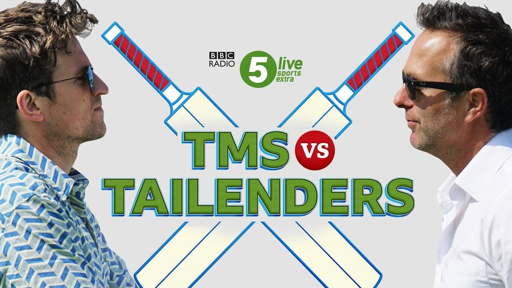 Test Match Special to face Tailenders podcast in challenge match in Derby