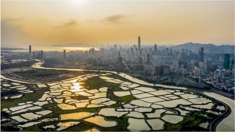 香港與深圳一河之隔,但兩地居民因疫情至今無法正常通關。