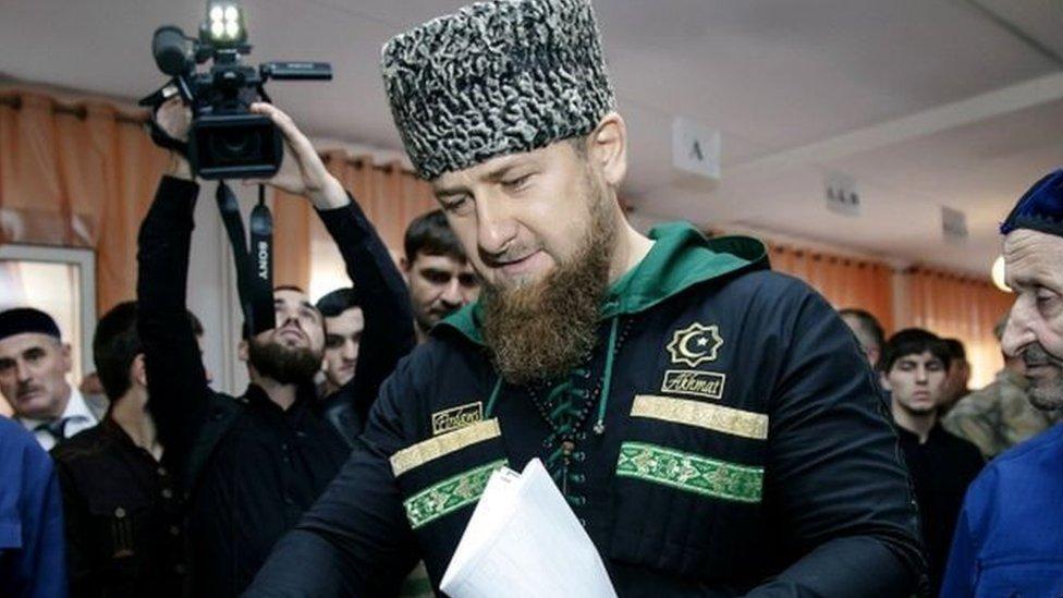 أصبح رمضان قديروف، 43 عاماً، رئيساً للجمهورية الروسية الجنوبية عام 2007