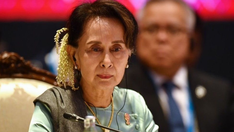Aung San Suu Kyi (archive image)
