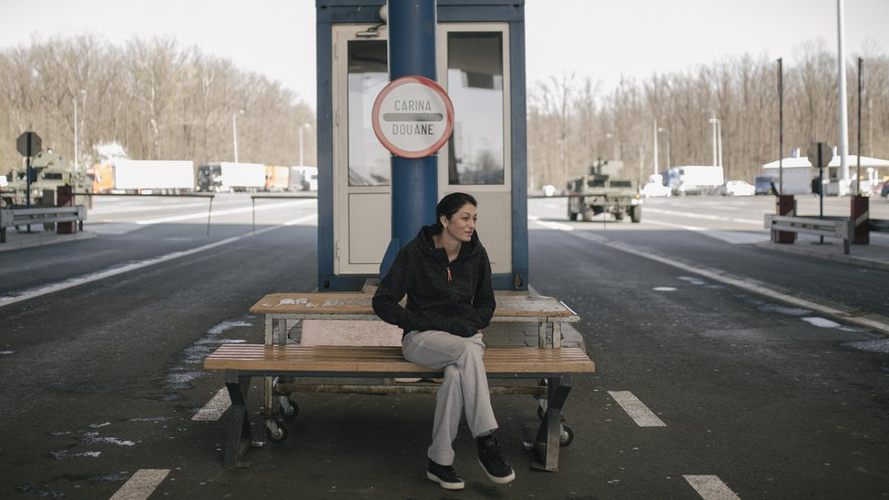 Državljanka Makedonije na graničnom prelazu Batrovci