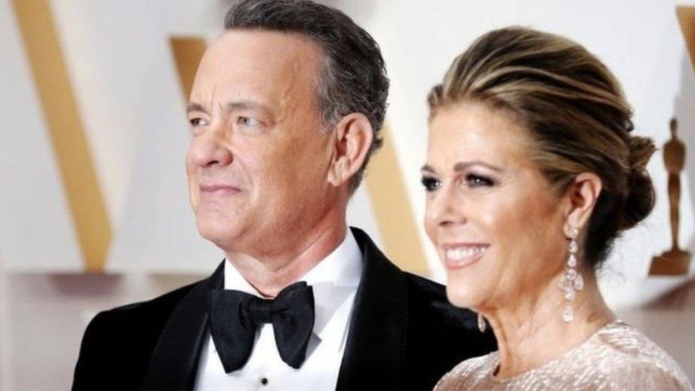 Tom Hanks dan Rita Wilson