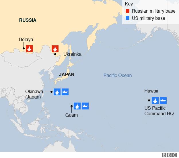 Far East/Pacific region military bases