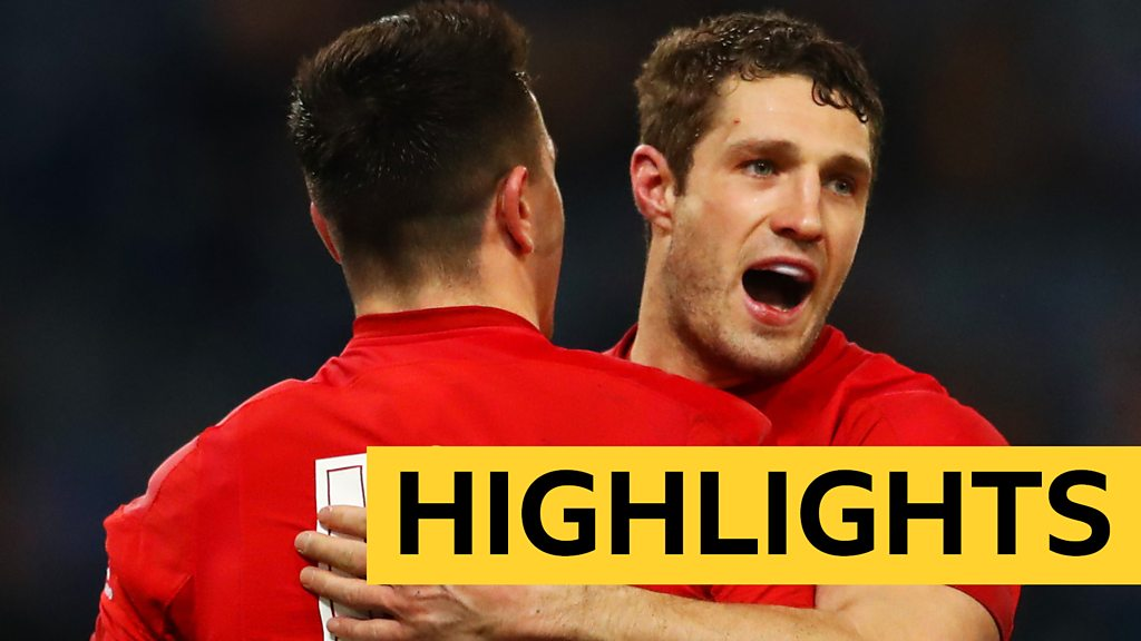 Six Nations: Italy 15-26 Wales highlights