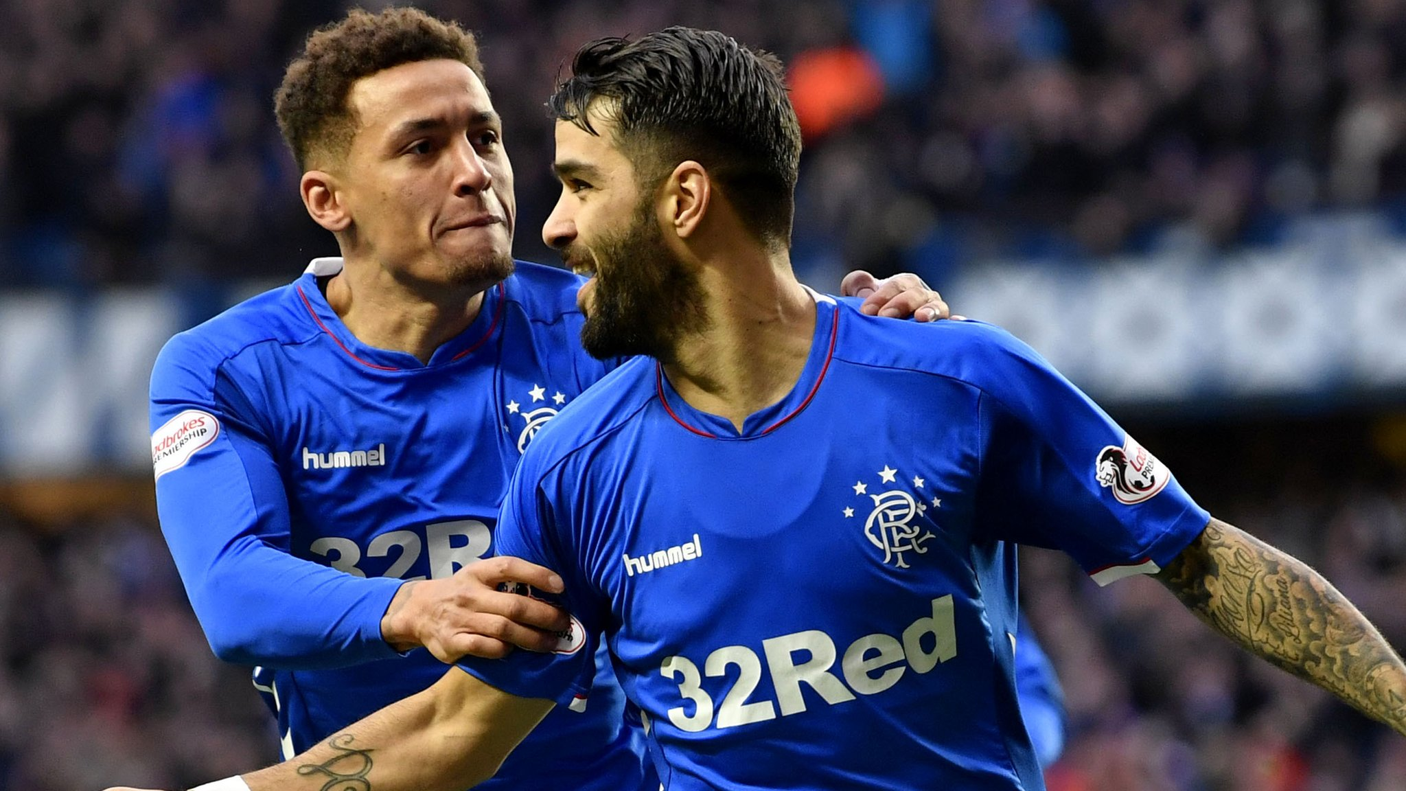 Rangers 1-0 Hamilton Academical: Steven Gerrard's side move top of Premiership