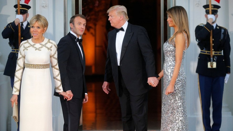 Brigitte Macron On Life At The Top As France S First Lady Bbc News