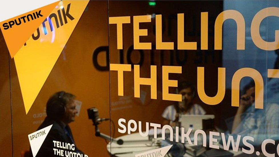 Screengrab from Sputnik website