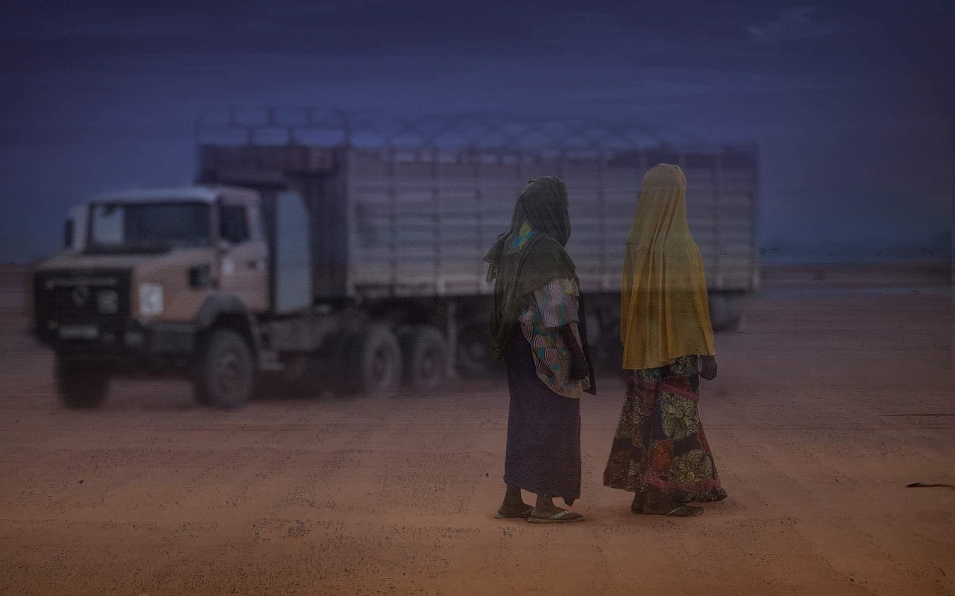 kadın mülteciler