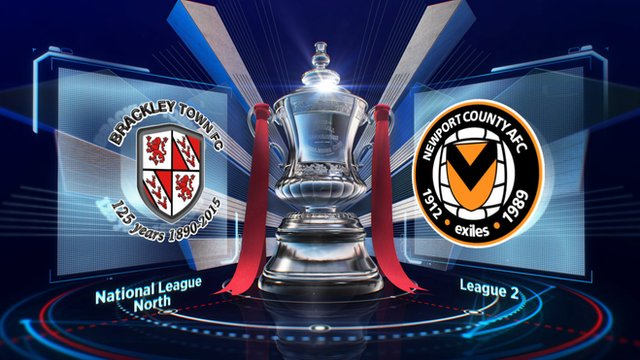 Brackley Town 2-2 Newport