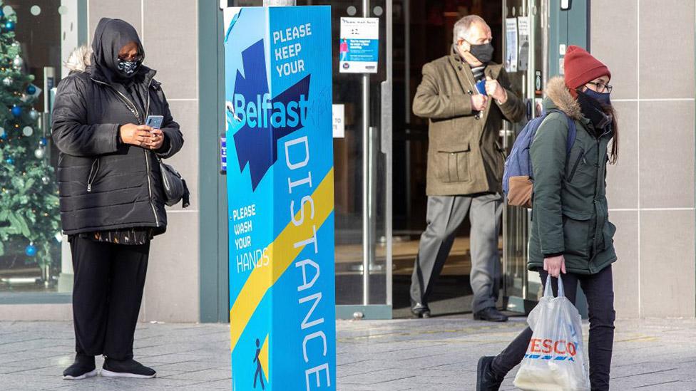 People in Belfast