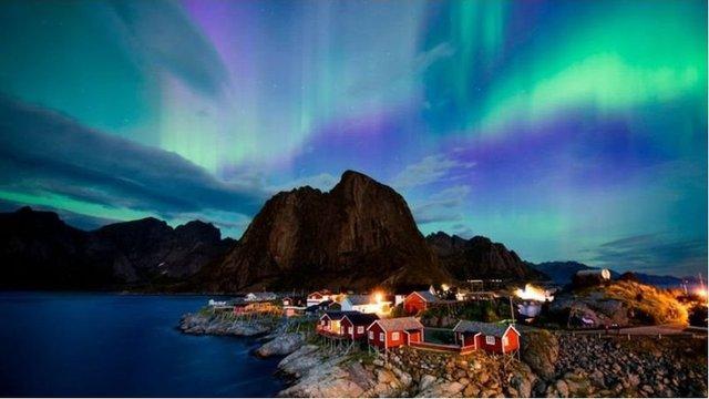 變化莫測的北極光