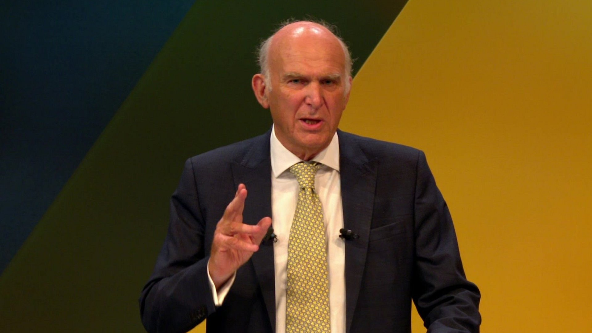 Sir Vince Cable Lib Dem conference speech focuses on Brexit