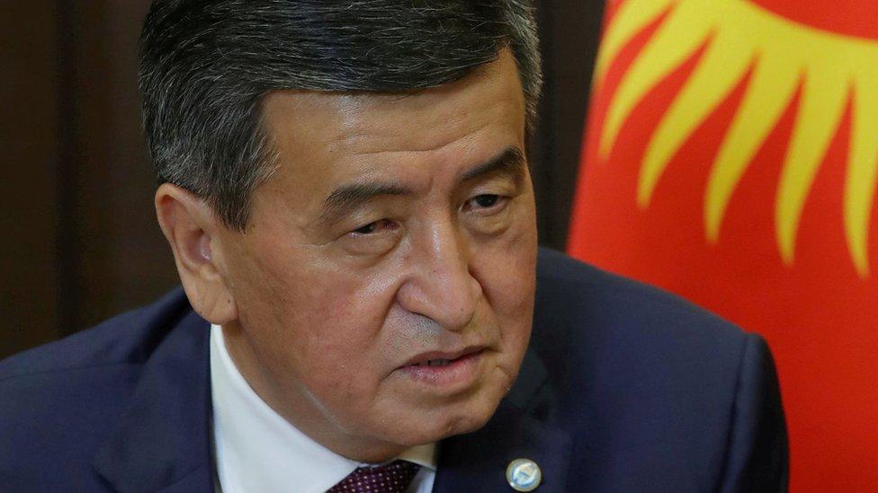 Predsednik Soronbaj Ženbekov