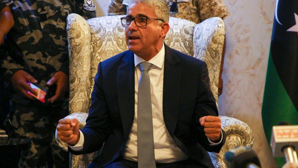 وزير الداخلية في حكومة الوفاق الليبية فتحي باشاغا