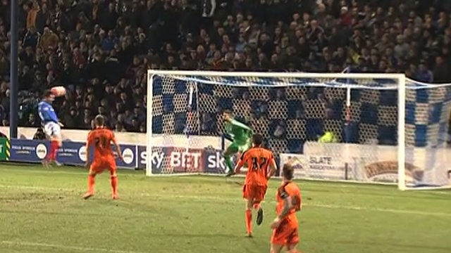 Portsmouth 2 McNulty (37') Ipswich 0