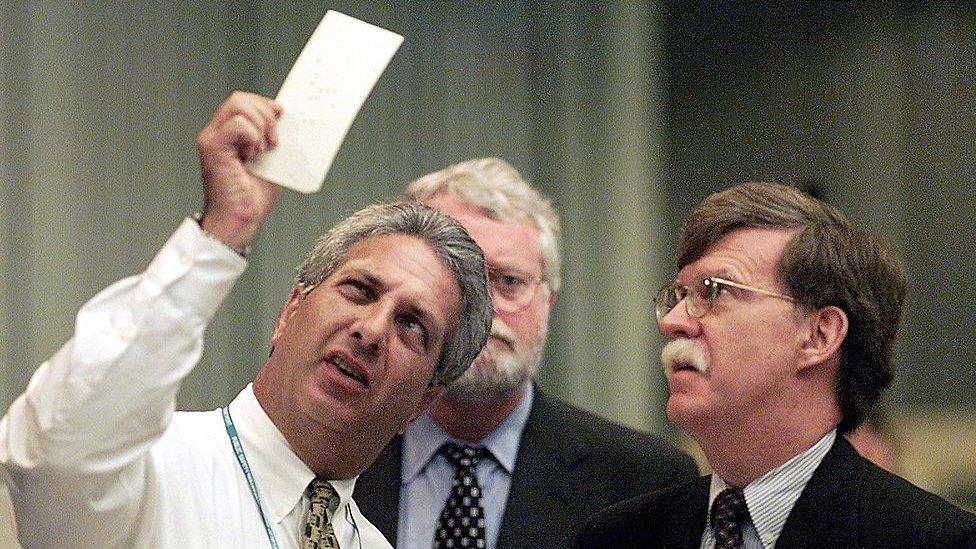 Un recuento de votos en Florida en 2000