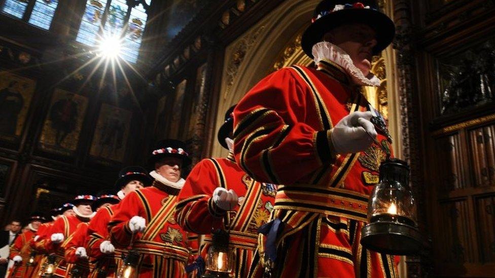 Ceremonija u Vestminsteru