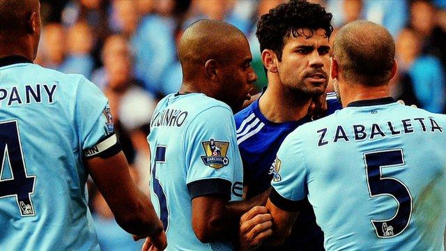 Man City v Chelsea: A new rivalry
