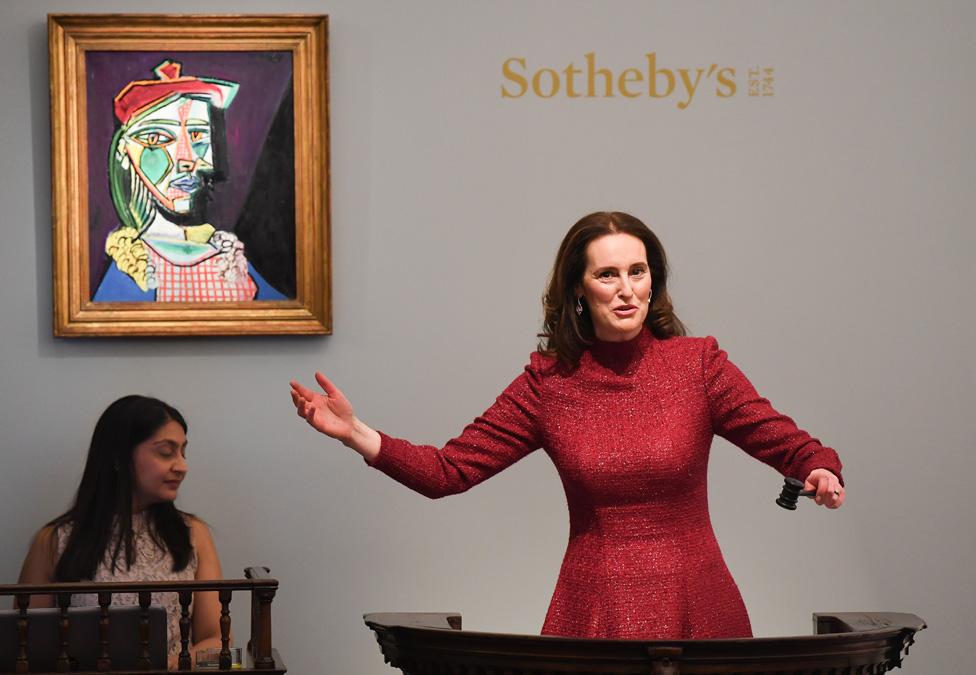 Subasta en Sotheby's en 2018