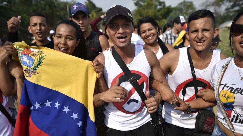 Para la oposición venezolana, la entrada de la ayuda humanitaria sería una victoria auspiciosa.