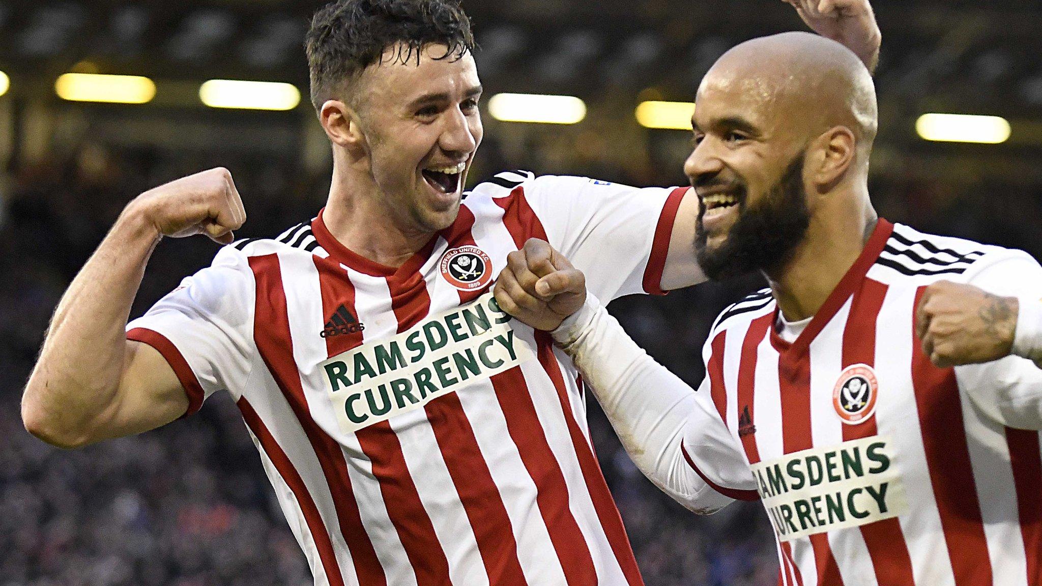 Sheffield United 1-0 Queens Park Rangers: David McGoldrick sends Blades second