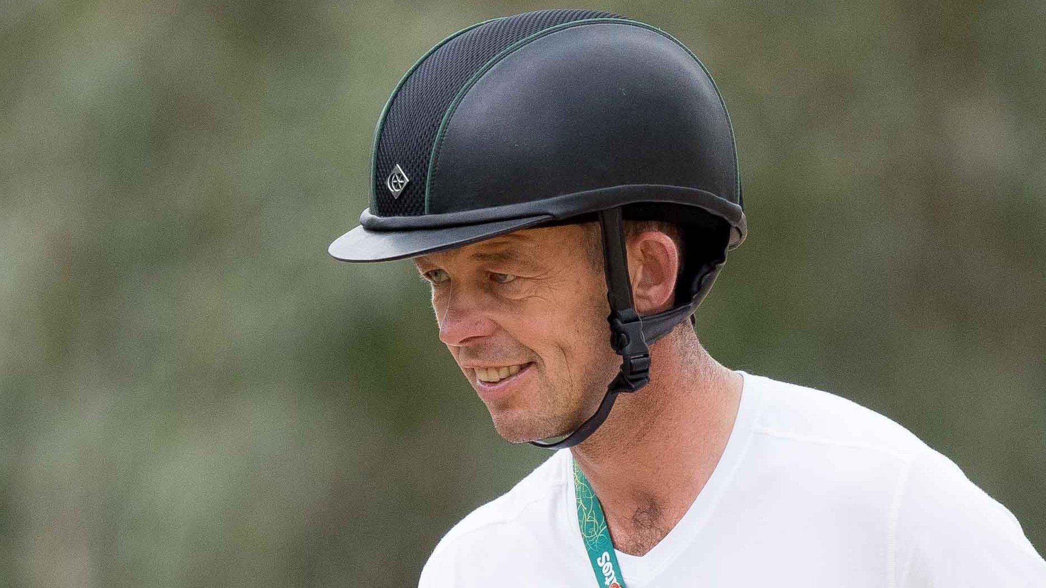 Irish Olympian Jonty Evans 'continues to improve' after fall
