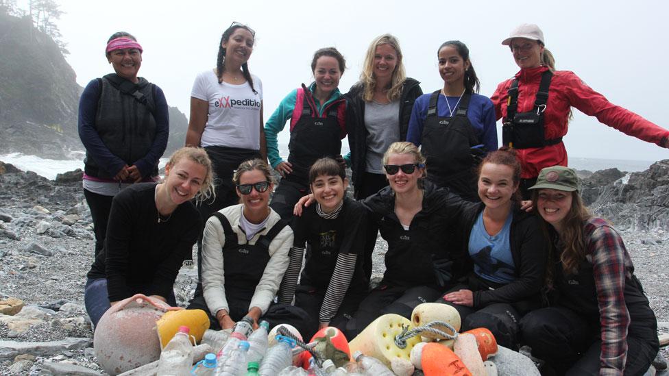 La expedición contó con participantes de Reino Unido, Estados Unidos, Canadá, Eslovenia, Noruega y Honduras.