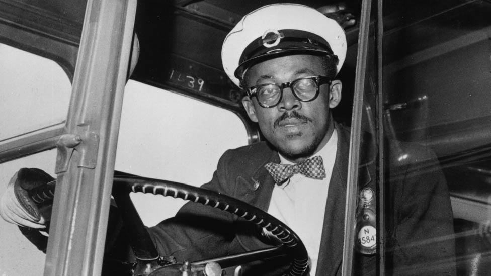 Bus driver in the 1960s