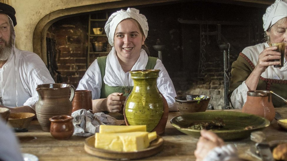 Stepping back in time with the Tudors of Kentwell Hall