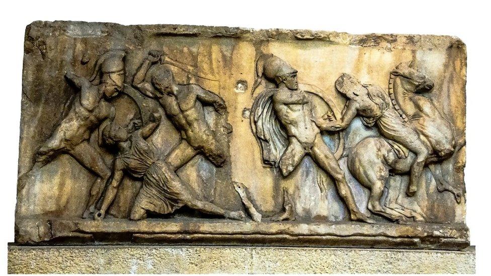 Amazonke i Grci u žaru bitke